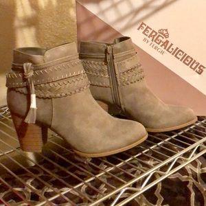 0e8847d28c5 Fergie Shoes - Fergalicious By Fergie Capital Booties NWT